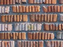 Red brick masonry Royalty Free Stock Photo