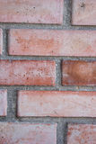 Red brick masonry wall. Texture and background Royalty Free Stock Image