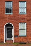 Red Brick Office Building. In Annapolis, Maryland showing historic masonry techniques royalty free stock image