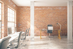 Red brick office Royalty Free Stock Images