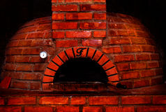 Red brick oven  Royalty Free Stock Image