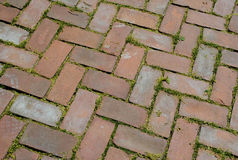 Red Brick pattern Royalty Free Stock Images