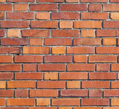 Red brick pattern in sunlight Royalty Free Stock Image