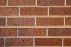 Red brick pattern wall Stock Photos