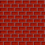 Red brick pattern Royalty Free Stock Image