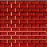 Red brick pattern Royalty Free Stock Image