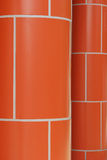 Red Brick Pillars Royalty Free Stock Photography