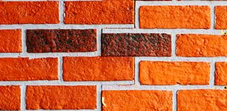Red brick. Put together in Asia Royalty Free Stock Photos