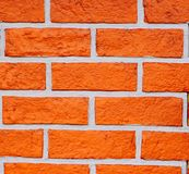 Red brick. Put together in Asia Royalty Free Stock Image