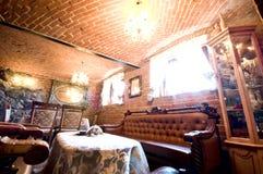Red brick restaurant Royalty Free Stock Image