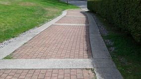 The red brick road Royalty Free Stock Image