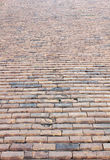 Red brick road Stock Photography