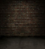 Red brick room royalty free illustration