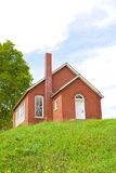 Red Brick Schoolhouse Stock Images