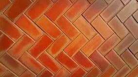 Red brick Sidewalk Royalty Free Stock Photos