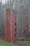 Red Brick Silo Stock Image