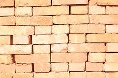 Red brick stack Stock Photos