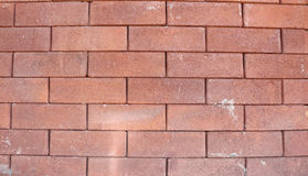 Red brick stone. Seamless texture background on wall - pattern for continuous replicate stock image