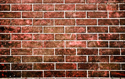 Red brick stone wall in grunge style Royalty Free Stock Photography
