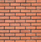 Red brick stone wall seamless background Royalty Free Stock Photo