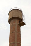 Red brick storage water tower Royalty Free Stock Image