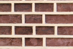 Red brick texture of a building Royalty Free Stock Photography