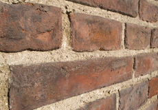 Red brick texture of a building Stock Image