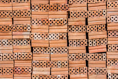 Red brick texture close up ready to use Stock Images