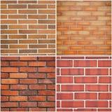 Red brick textures Stock Photo