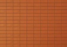 Red brick or tile background Royalty Free Stock Images