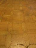 Red brick tile floor background Stock Photo
