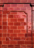 Red Brick Tiles Stock Photos