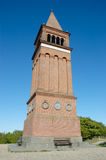 Red brick tower Royalty Free Stock Photography