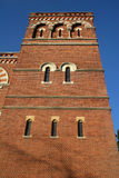 Red brick tower, Harrow Royalty Free Stock Photography