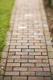 Red Brick Walkway Royalty Free Stock Photography