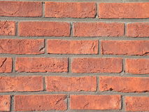 Red brick wall. Suitable as background Stock Photos