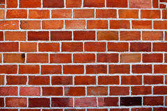 Red brick wall. Background of red brick wall Royalty Free Stock Image