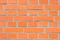Red brick wall. Stock Photo