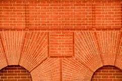 Red Brick Wall Stock Photo