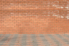 Red brick wall Royalty Free Stock Photo