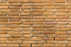 Red brick wall. Abstract background of red brick wall Royalty Free Stock Photo