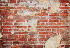 Red brick wall. Background of red old brick wall Stock Photo