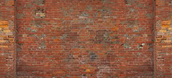Red brick wall. Chinese traditional  red brick wall Stock Photos