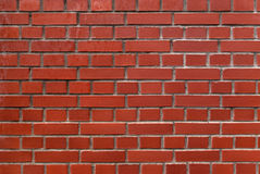 Red brick wall. Stock Photography