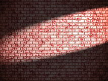 Red brick wall Royalty Free Stock Image