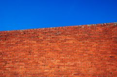 Red brick wall Royalty Free Stock Photography