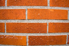 Red brick wall. Abstract background of red brick wall Royalty Free Stock Image