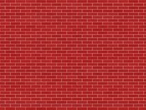 Red Brick wall. Texture background vector illustration