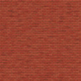 Red Brick Wall. Texture stock illustration