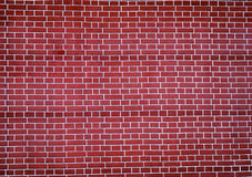 Red brick wall. A wall made from red bricks Stock Images